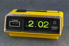 CITIZEN Flip Battery Alarm Clock