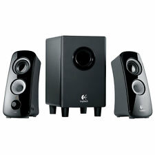 Logitech Z323 3 Piece 2.1 Channel Computer Multimedia Speaker System - Black