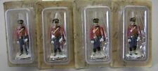 Eaglemoss metal toy soldiers Napoleonic Wars Lot of 4 Hussar Life Guard E15