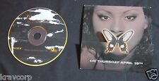 FOXY BROWN 'BROKEN SILENCE' 2001 PROMO CD & LISTENING PARTY INVITATION