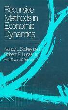 Recursive Methods in Economic Dynamics by Stokey, Nancy L., Lucas Jr., Robert E