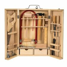 Wooden Tool Set - Box - Traditional Wooden Toys ** GREAT GIFT **