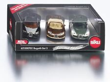 Siku 621300702 Bugatti Set 3 Limited Edition Special 3000 Worldwide 1:55 6213C