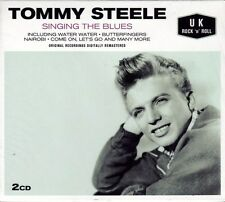 TOMMY STEELE - SINGING THE BLUES (NEW SEALED 2CD)