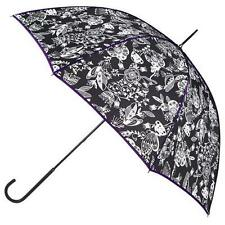 Ladies totes Ladies Elegant Black & White Umbrella 9716QMF Brand New