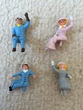 Corgi Toys 266 Chitty Chitty Bang Bang Original Complete Set Of 4 Figures - VGC