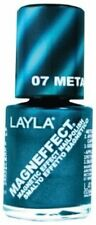 NEW! LAYLA MAGNEFFECT Magnetic Effect 3D nail polish lacquer in METALLIC SKY 07