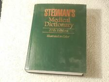 Stedman's Medical Dictionary 27th Ed. Featuring New Veterinary Medicine Insert