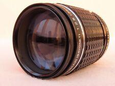 Rare PENTAX TAKUMAR F2.5 135mm portrait lentille pour PENTAX k film et numérique