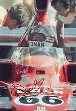 Brian Redman Hand Signed 12x8 Photo Lola F1 1.