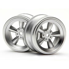 HPI Racing Vintage 5 Soke Wheel 26mm Matte Chrome 0mm Offset 3815