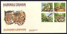 1995 Malaysia Clouded Leopard WWF 4v Stamps FDC (Kuala Lumpur Cachet)
