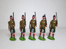 DORSET Lead Toy Soldier ARGYLL & SUTHERLAND HIGHLANDERS BOER WAR SET Britains