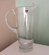 ORREFORS Fine Swedish Crystal Pitcher Wedding Mothers Day Gift Home Decor