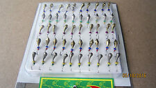 50 NEW Mormyshka Ice Fishing Lures Jigs  'mixed № 2'  from Ukraine