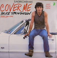 "maxi 12"" 30cms: Bruce Springsteen: cover me, CBS C2"