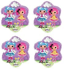 "4x NEW Lalaloopsy 18"" Foil Balloon Birthday Decorations ~Party Favor Supply~"