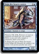 MTG Magic BOK - (3x) Ninja of Deep Hours/Ninja des heures noires, French/VF