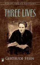 Three Lives (Dover Thrift Editions), Gertrude Stein, New Book