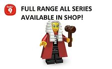 Lego minifigures judge series 9 (71000) unopened new factory sealed
