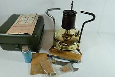 Old Vintage OPTIMUS No. 00 Camping Stove In Original Rare Steel Box