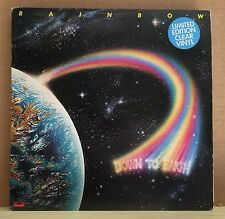RAINBOW Down To Earth 1979 UK CLEAR Vinyl LP EXCELLENT CONDITION
