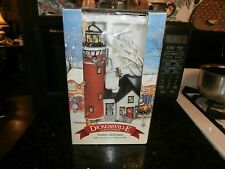 Dickensville NOMA 1997 Christmas Light House porcelain lighted Building