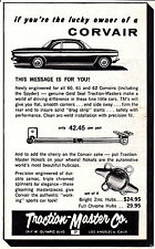 1963 CHEVROLET CORVAIR  ~  ORIGINAL SMALLER TRACTION-MASTER PRINT AD