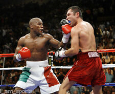 FLOYD MAYWEATHER JR. vs OSCAR DE LA HOYA BOXING FIGHT 8x10 PHOTO