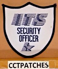 ITS SECURITY OFFICER (POLICE) SHOULDER PATCH