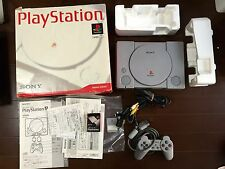 PS1 Play Station Playstation Console System SCPH-5500 SONY JAPAN