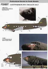 FO72018/ Foxbot Decals - Douglas C-47 - Pin-Up Nose Art - 1/72 - TOPP DECALS