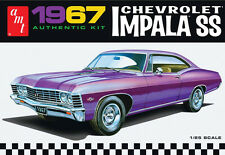 AMT 1/25 1967 Chevrolet Impala SS PLASTIC MODEL KIT AMT981
