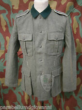 Feldbluse M36, giacca tecesca, Wehrmacht, german field jacket uniforme militare