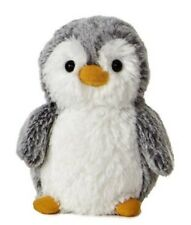 "6"" Gray PomPom Penguin Plush Stuffed Animal Toy - New"