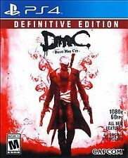 NEW  --  DmC: Devil May Cry -- Definitive Edition  --  Sony PlayStation 4 PS4