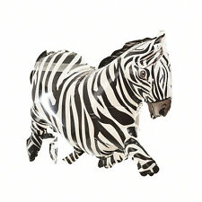 1 X Cartoon Zebra Inflatable Balloons Jungle Animal Party Props Kids Toy gt