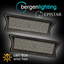 FOR BMW 1 SERIES E87 2004-2011 27 LED INTERIOR ROOF COURTESY LIGHT LAMP PAIR
