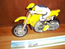 Hot Wheels motorcycle & rider Cycle Yellow
