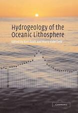 Hydrogeology of the Oceanic Lithosphere (2013, Paperback)