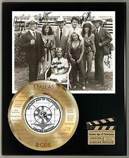 DALLAS LIMITED EDITION SIGNATURE & LASER ETCHED TV SERIES DISPLAY