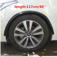2x 46'' Arch Wide Fender Flare Extension Black Protector Lip Wheel-arch trim