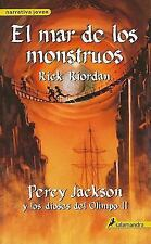 El Mar De Los Monstruos / The Sea of Monsters (Percy Jackson y Los Dioses del Ol