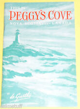 This Is Peggy's Cove 1993 Nova Scotia History! Nice See!