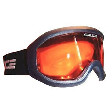 Salice Summit Ski Snowboard Goggles Anti-fog Lens - Baltic Blue / Orange