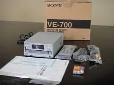 SONY VIDEO CD VCD MODEL VE-700 MINT CONDITION VE700 VIDEO CD PLAYER VCD FORMAT