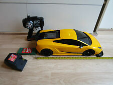 Lamborghini Gallardo RC Radio Remote Controlled Toy Car 1:10 Yellow Body Shell