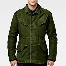NWT $280 G STAR RAW Aviator Blazer Bright Dark Army Green Sz XL