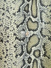 COBRA SEQUINS MESH FABRIC - Cobra - BY THE YARD SHINY COSTUME SNAKE SKIN