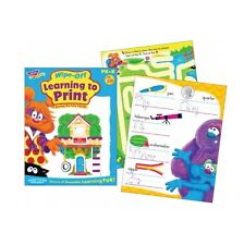 Learning To Print Wipe Off Book Handing Writing Practice Occupational Therapy